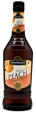 Hiram Walker Brandy Peach